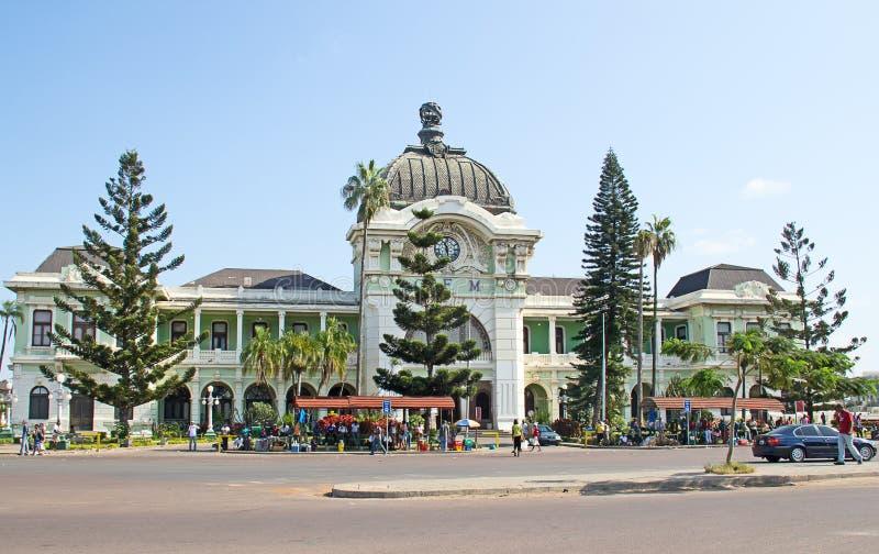 Estación de tren de Maputo imagen de archivo