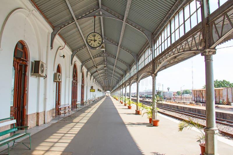 Estación de tren de Maputo imágenes de archivo libres de regalías
