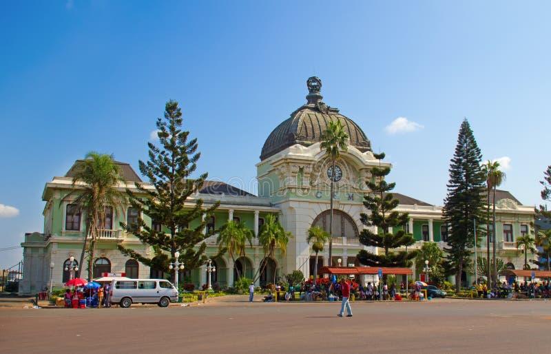 Estación de tren de Maputo foto de archivo libre de regalías
