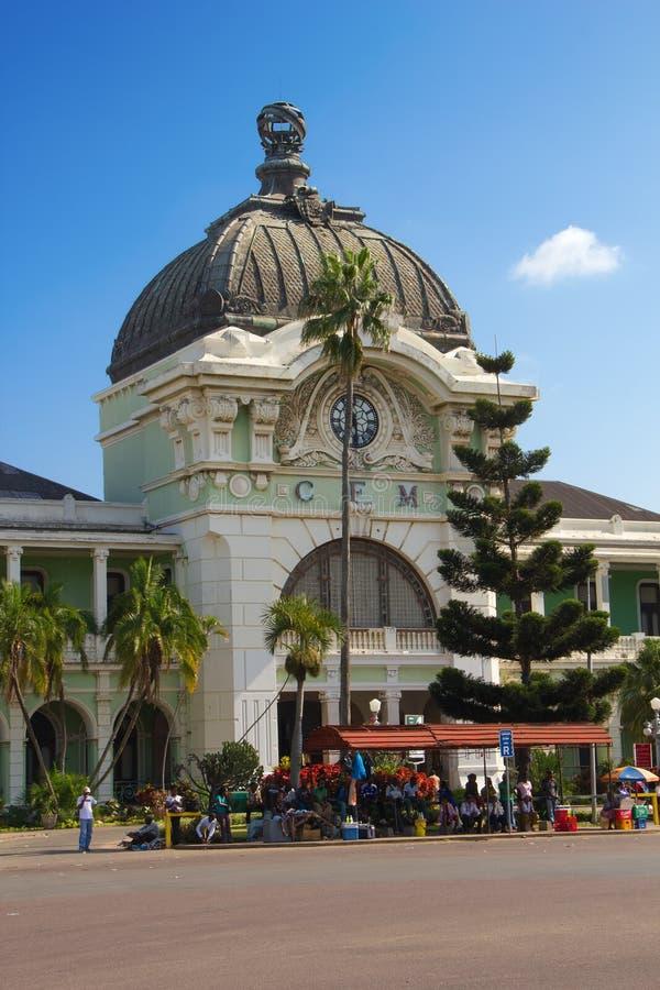 Estación de tren de Maputo imagenes de archivo
