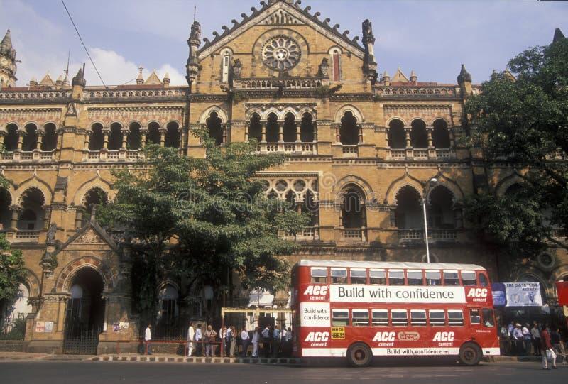 Estación de tren de Mumbai fotos de archivo libres de regalías