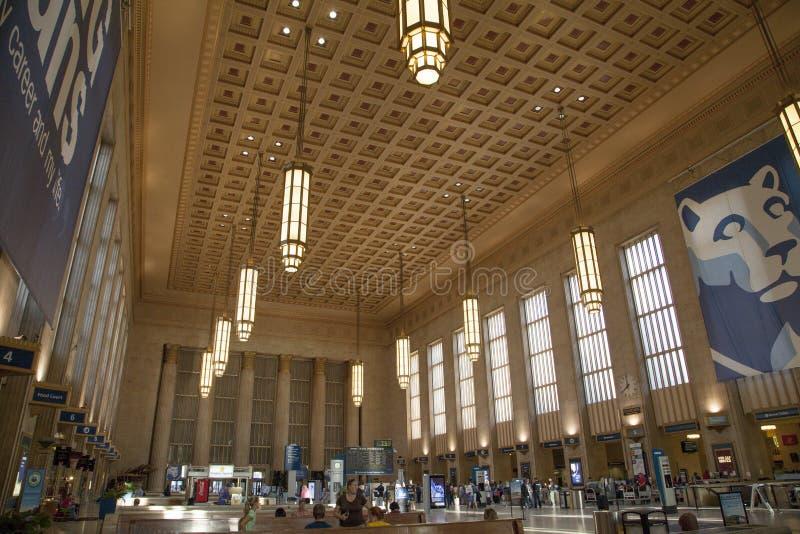 Estación de tren de Philadelphia foto de archivo