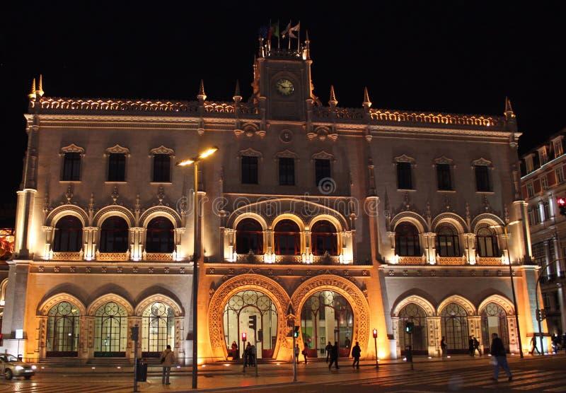 Estación de tren de Rossio fotografía de archivo libre de regalías