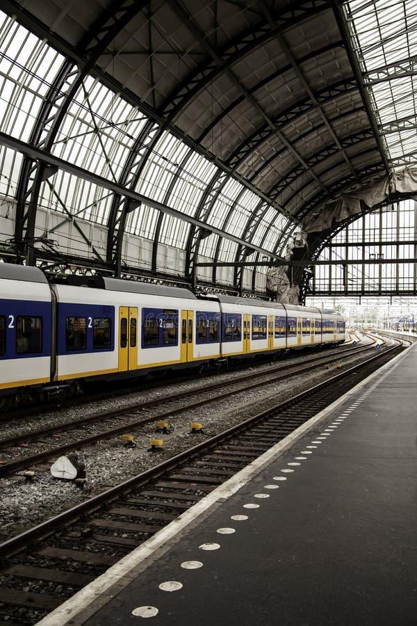 Estación de tren en Brujas imagen de archivo