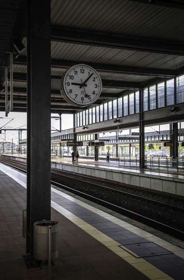 Estación de tren en Oporto imágenes de archivo libres de regalías