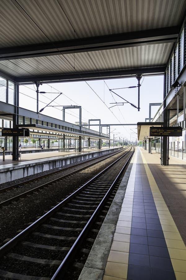 Estación de tren en Oporto foto de archivo libre de regalías