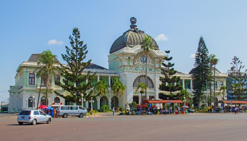 Estación de tren de Maputo fotografía de archivo