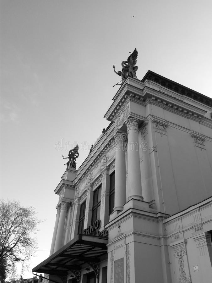 Estación de tren principal imagen de archivo libre de regalías