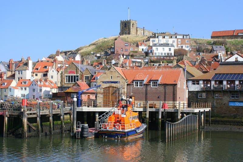 Estación del bote salvavidas en Inglaterra fotos de archivo libres de regalías