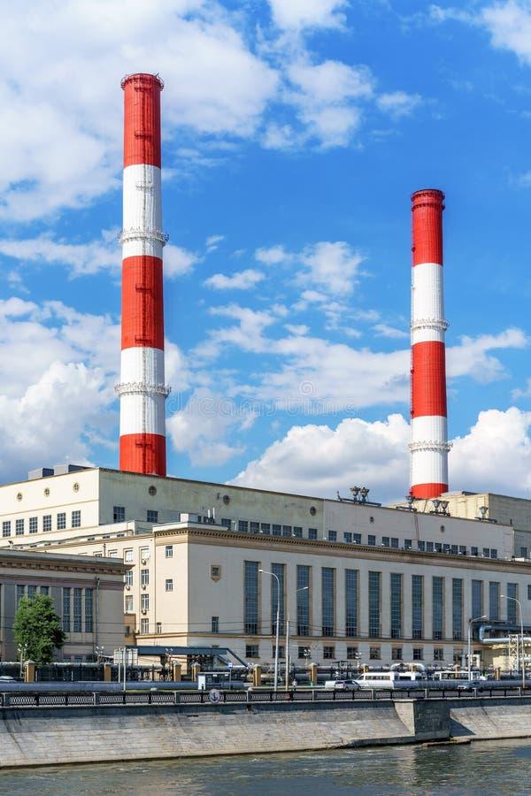 Estación del calor de la energía en un día soleado fotos de archivo