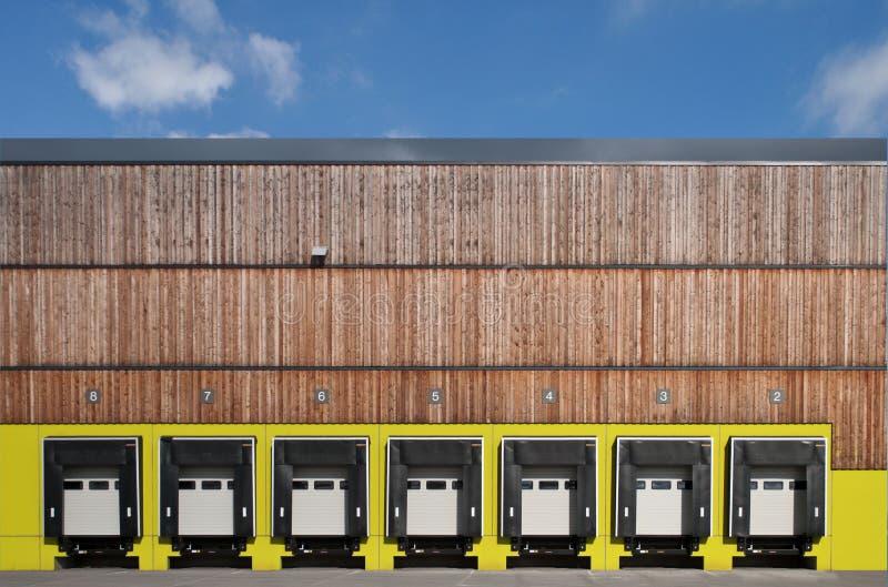 Estación del cargamento del carro fotos de archivo libres de regalías