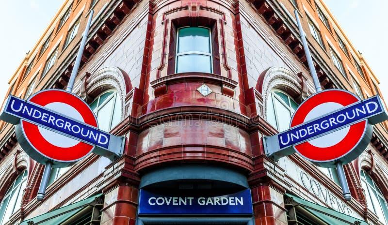 Estación del jardín de Covent imágenes de archivo libres de regalías