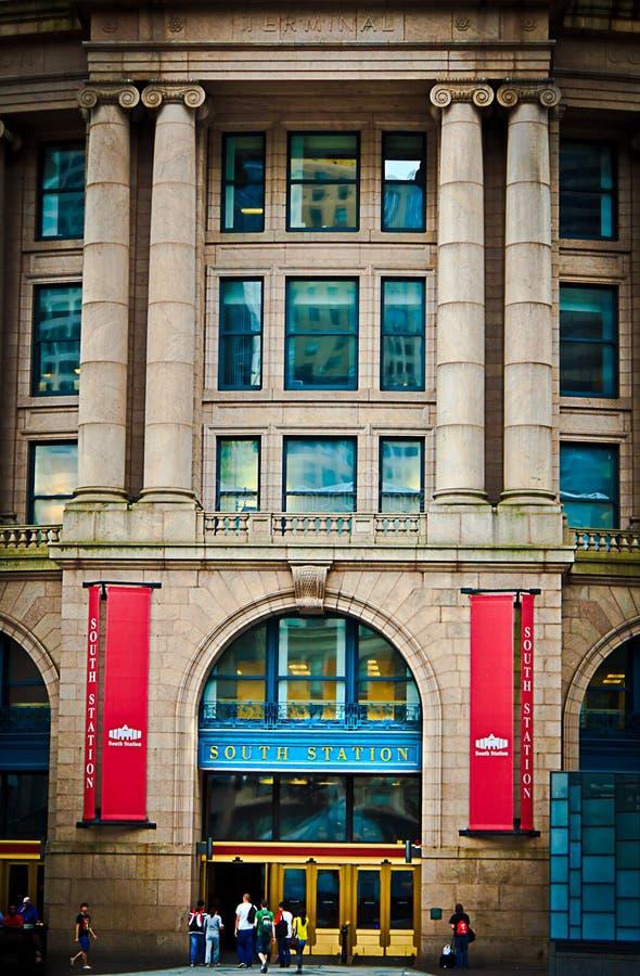 Estación del sur - Boston foto de archivo