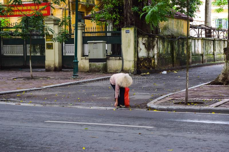 Estación el caer en la ha Noi, Vietnam imagen de archivo libre de regalías