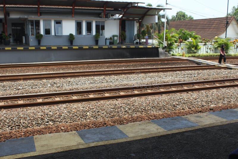 Estación en el maguwo Yogyakarta Indonesia imagenes de archivo