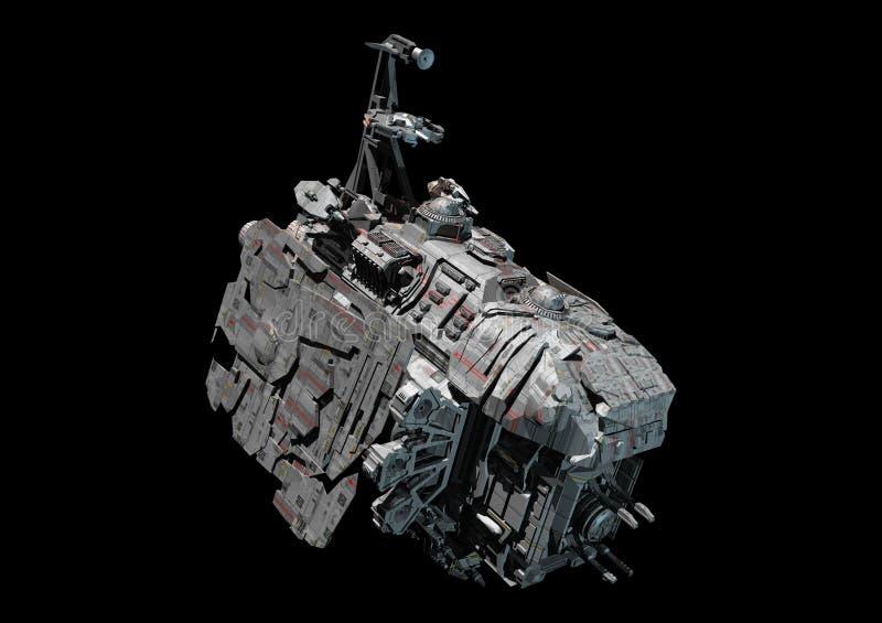 Estación espacial ilustración del vector