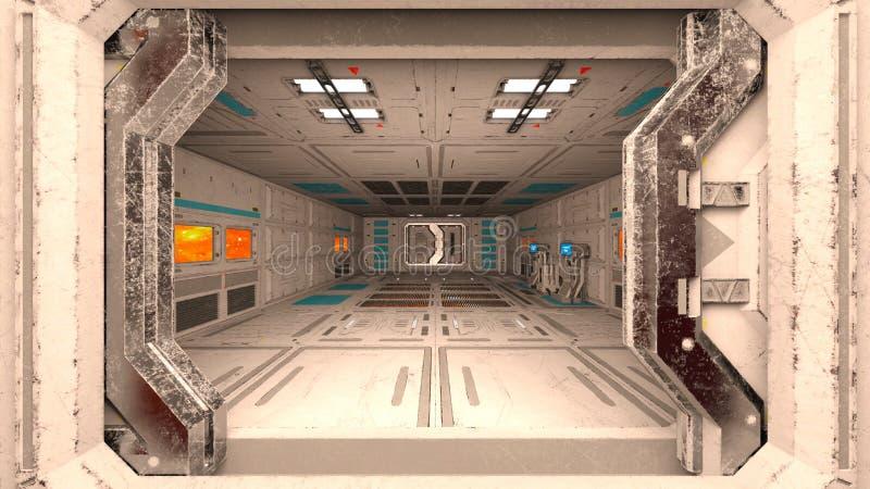 Estación espacial foto de archivo