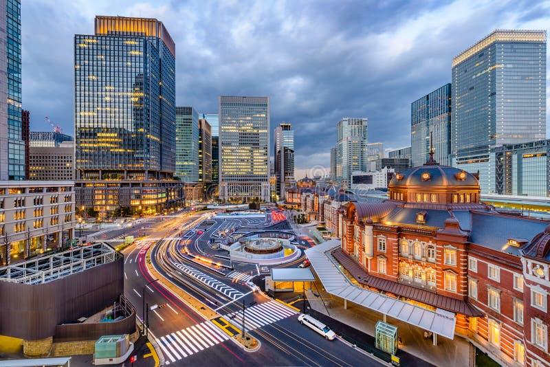 Estación Japón de Tokio fotos de archivo