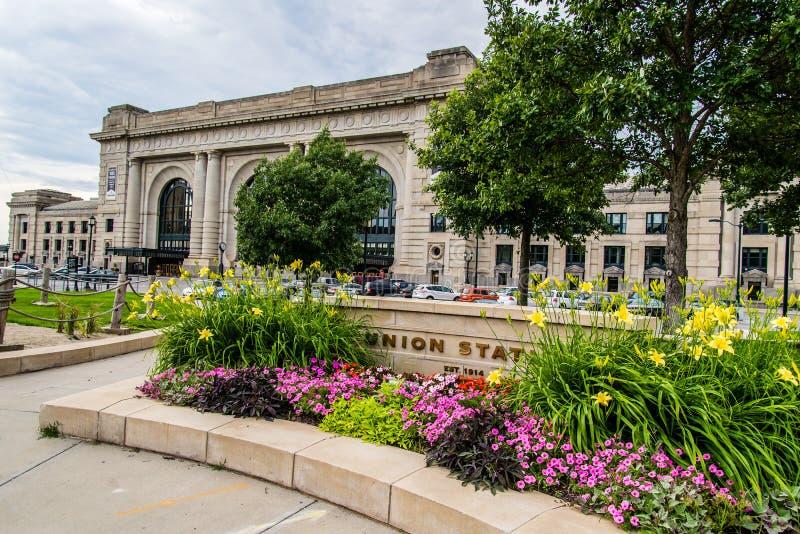 Estación Kansas City Missouri de la unión fotos de archivo libres de regalías