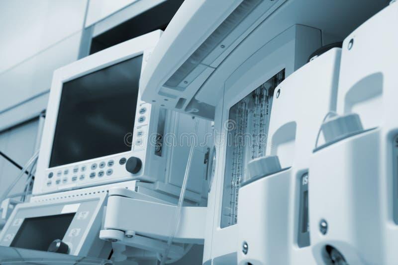 Estación médica del dispositivo del aire fotografía de archivo libre de regalías
