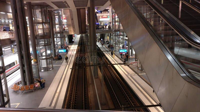 Estación principal Berlín fotos de archivo libres de regalías