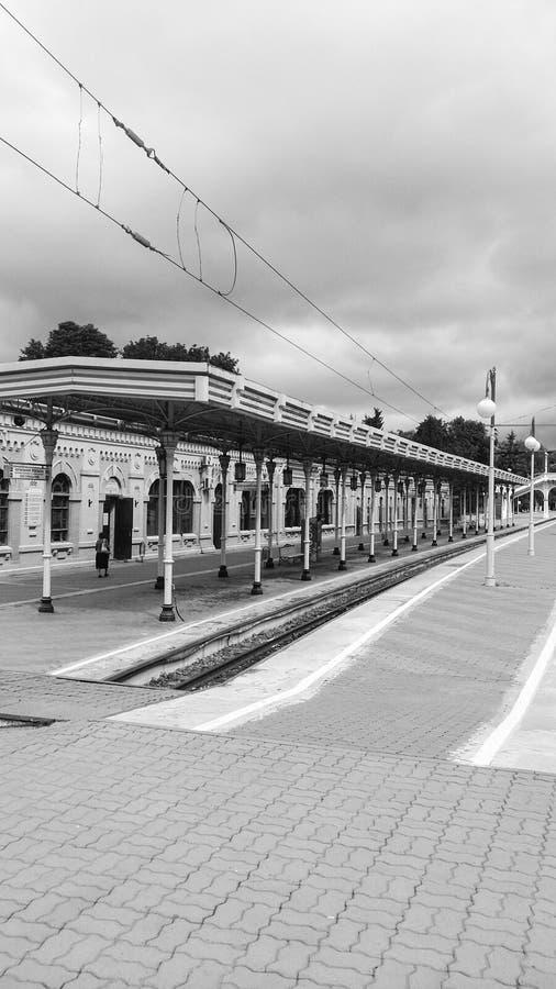 Estación vacía imagenes de archivo