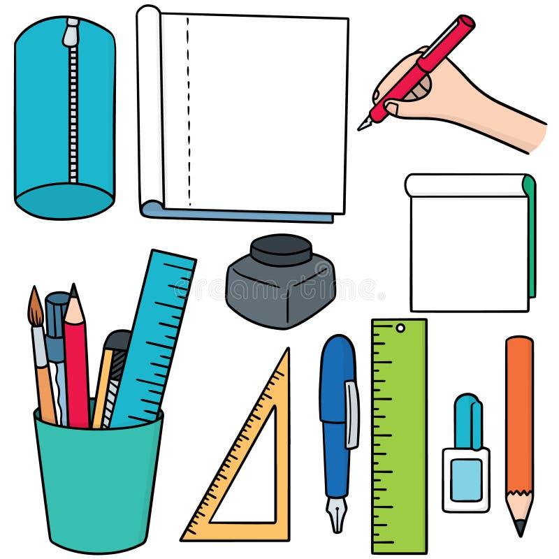 estacionário ilustração stock