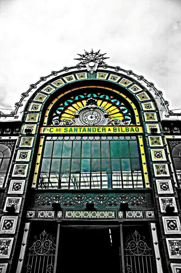 Estacion, Bilbao imagem de stock