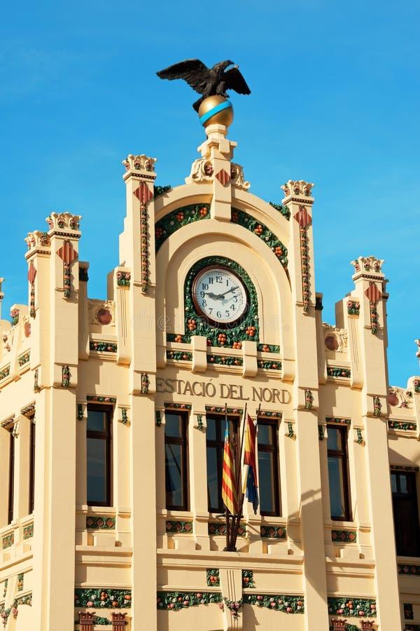 Estacion del Norte (estación de tren del norte) Valencia fotografía de archivo