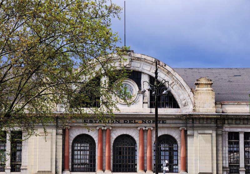 Estacion del Norte, Madrid, Spain royalty free stock photography