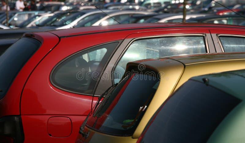 Estacionamento foto de stock