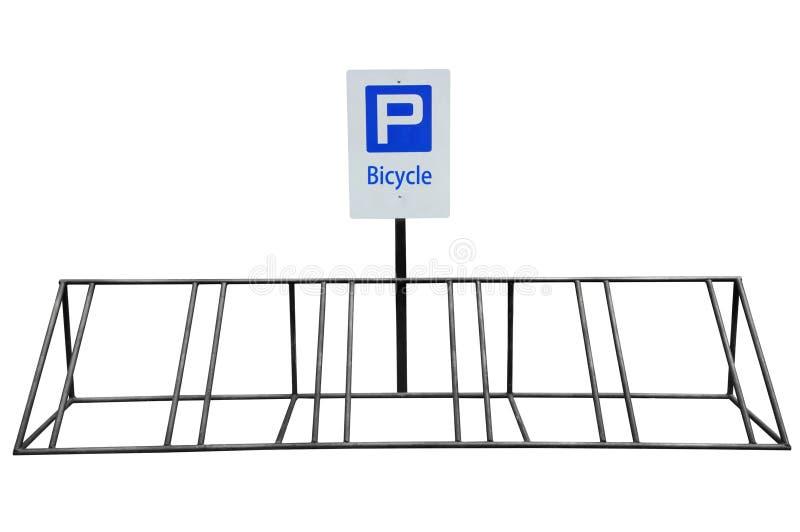 Estacionamento da bicicleta fotografia de stock royalty free