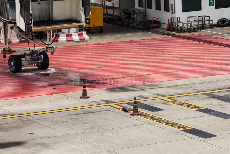 Estacionamento dos aviões da área fotos de stock
