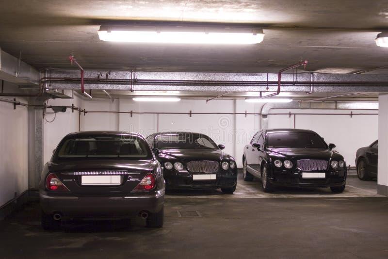 Estacionamento Subterrâneo Imagens de Stock