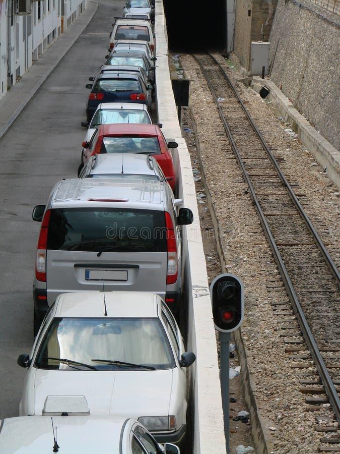 Estacionamiento del coche