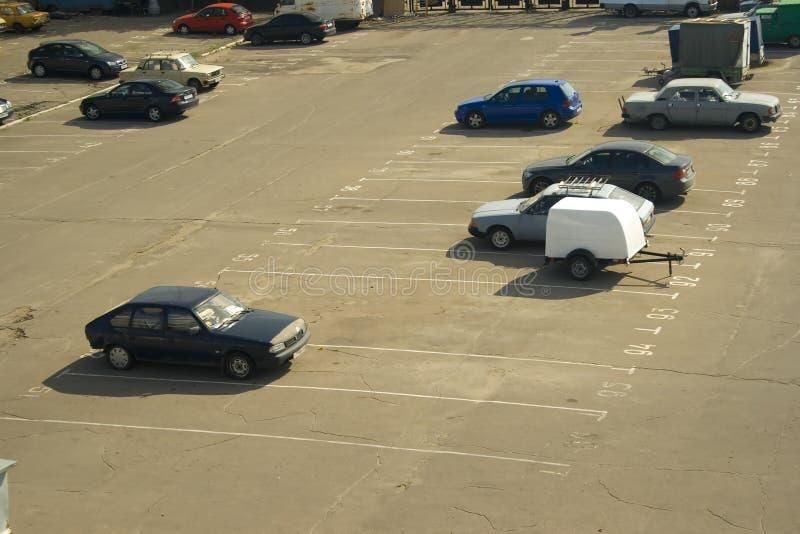 Estacionando 1 fotografia de stock