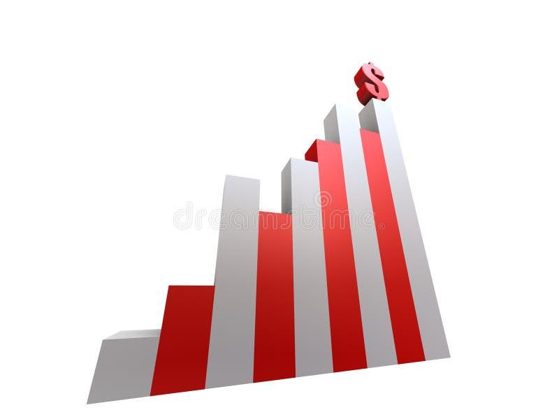 Estadística ilustración del vector