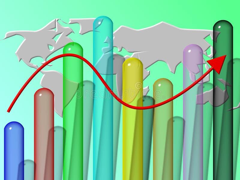 Download Estadística stock de ilustración. Ilustración de dólar - 1276371