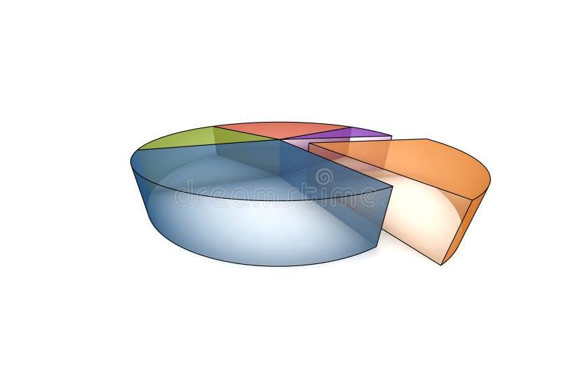 estadísticas 3d libre illustration