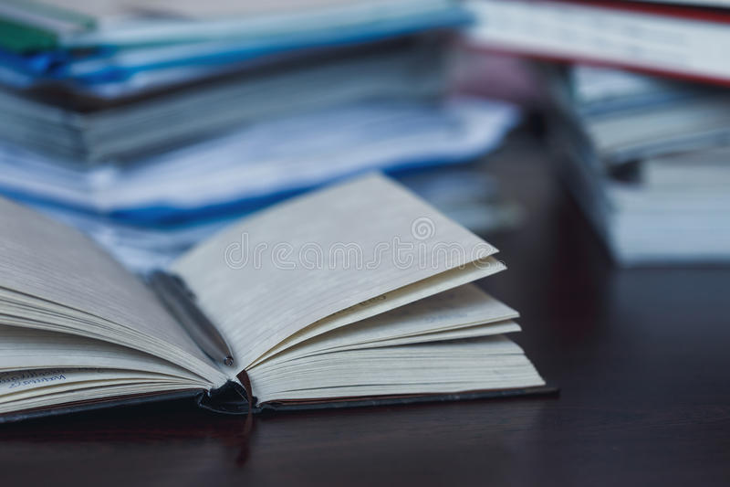 Estadísticas e impuestos foto de archivo libre de regalías