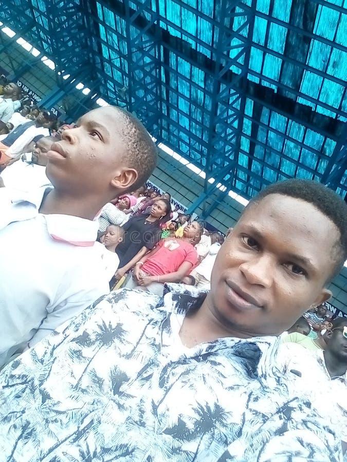 Estadio Asaba2018 foto de archivo