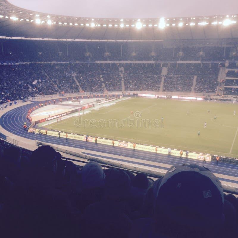 Estadio Berlín de Olympia imagen de archivo
