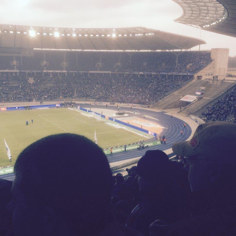 Estadio Berlín de Olympia fotos de archivo