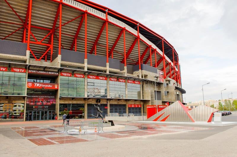 Estadio da Luz (Stadium of Light), hem- stadion för set L _ arkivfoton