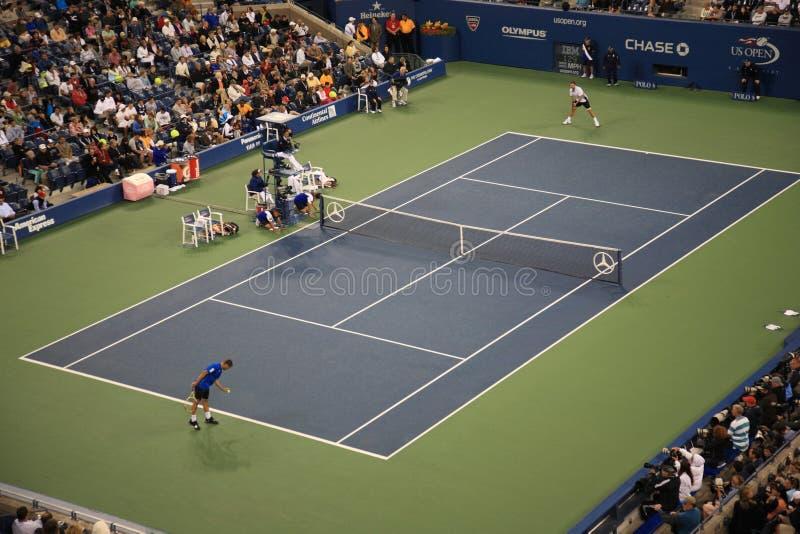 Estadio de Ashe - los E.E.U.U. abren tenis foto de archivo