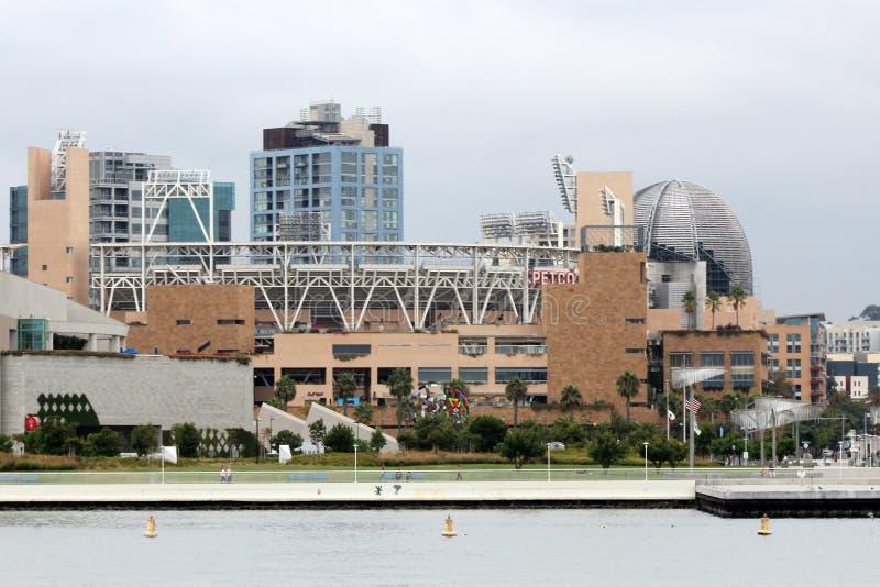 Estadio de béisbol del parque de Petco imagenes de archivo