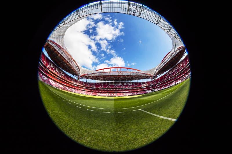 Estadio de Benfica en Lisboa, Portugal fotos de archivo