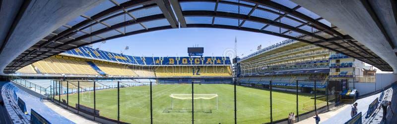 Estadio de Bombonera del La de Boca Juniors en la Argentina fotos de archivo