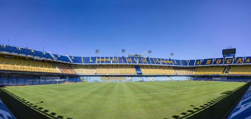 Estadio de Bombonera del La de Boca Juniors en la Argentina imágenes de archivo libres de regalías