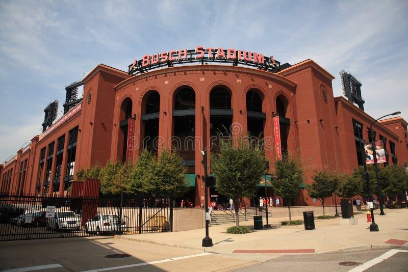 Estadio de Busch - cardenales de St. Louis imagen de archivo